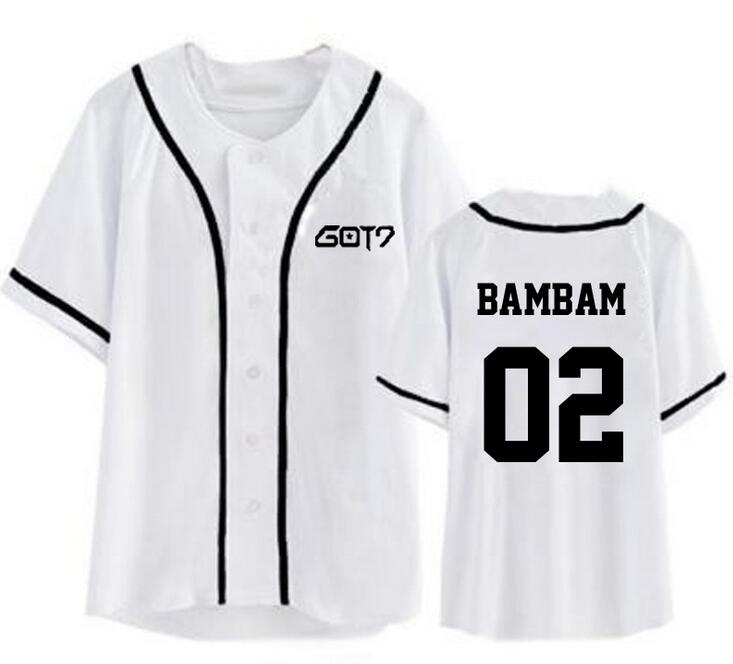 Got7 Baseball T-shirt Fashion