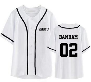 Got7 Baseball T-shirt Fashion