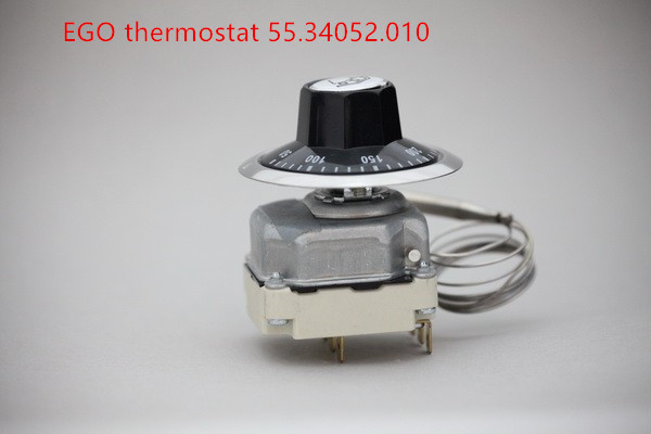 380V  EGO thermostat 50-300 degrees celsius 55.34052.010, over temperature protective adjustable tempering control switch