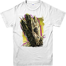 Guardians of The Galaxy T-Shirt, Groot Superhero Marvel comics T-Shirt Top Fashion Summer Paried Tshirts