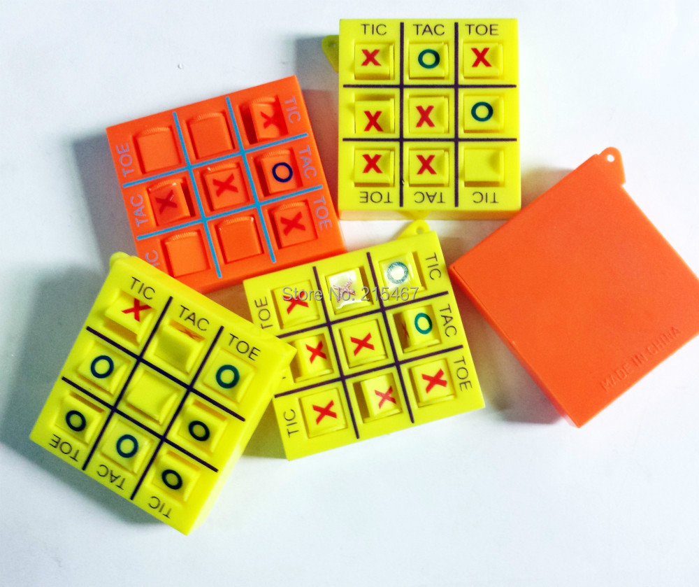 4 pc tic tac toe O X Birthday Party Favors Gift Pocket Game Toys ...