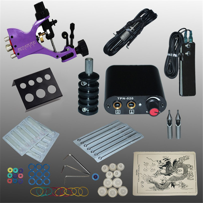 Tattoo Machine Kits Professional Complete Rotary Tattoo Kit 1Pcs ...