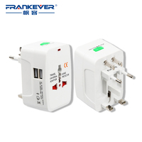 USB Wall Electric Plug Power Socket Adapter Universal Travel All In One Wall Charger Adapter Socket