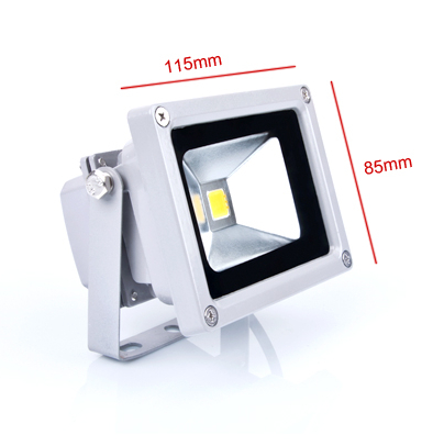 10W LED Floodlight Outdoor Lighting Waterproof 110V 120V 130V 220V 230V 240V Warm Cold Natural White Bridgelux Chip 130-140lm/W