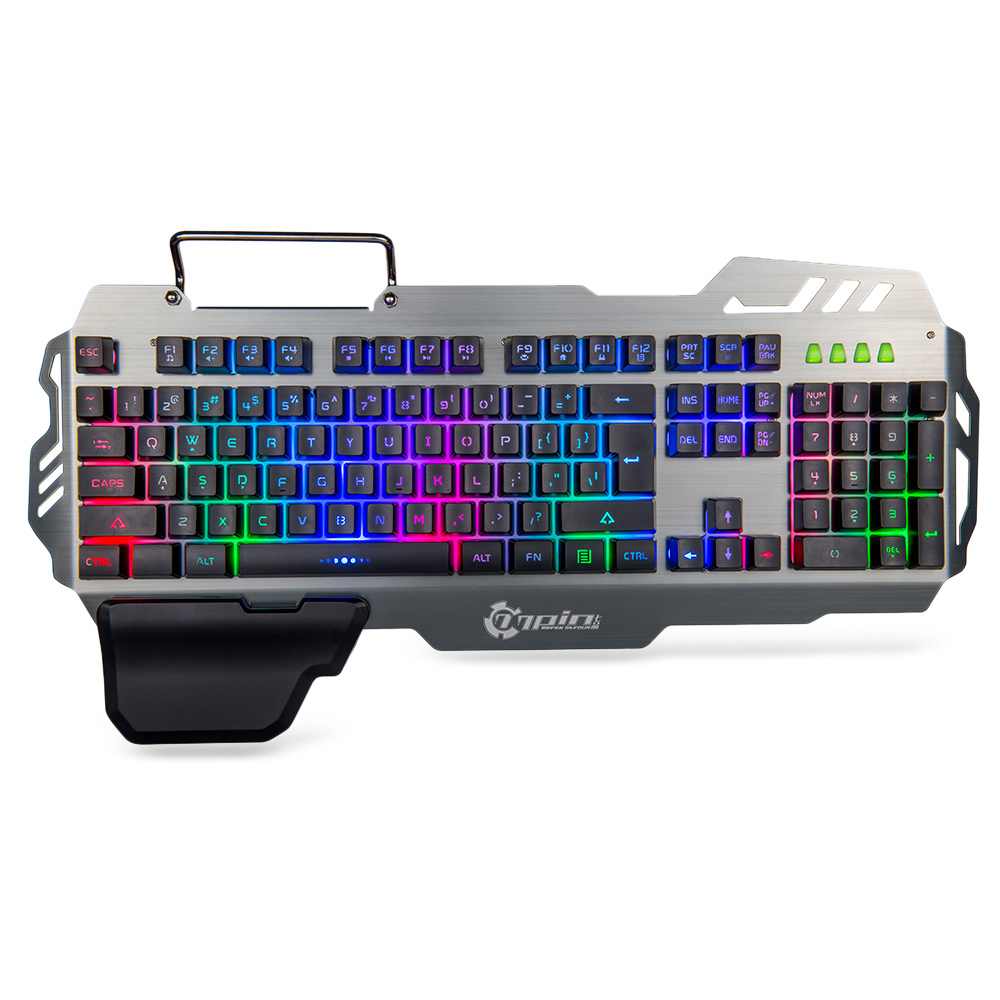 buy 7pin pk900 standing 104 keys gaming membrande keyboard with colorful. Black Bedroom Furniture Sets. Home Design Ideas