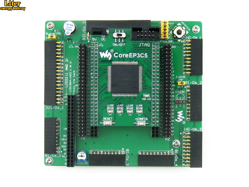 Altera Cyclone Board EP3C5 EP3C5E144C8N ALTERA Cyclone III FPGA Development Board = OpenEP3C5 C Standard