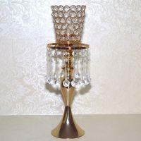 Wholesale European hollow iron art Candlestick retro wedding home creative crafts decorative birthday gifts