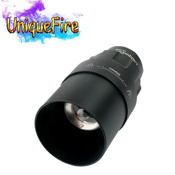 UniqueFire 38mm/50mm/67mm/75mm lampe frontale convexe/torche modifiable pour UF 1605 XML/XRE/XPE/850NM/940NM lampe de poche