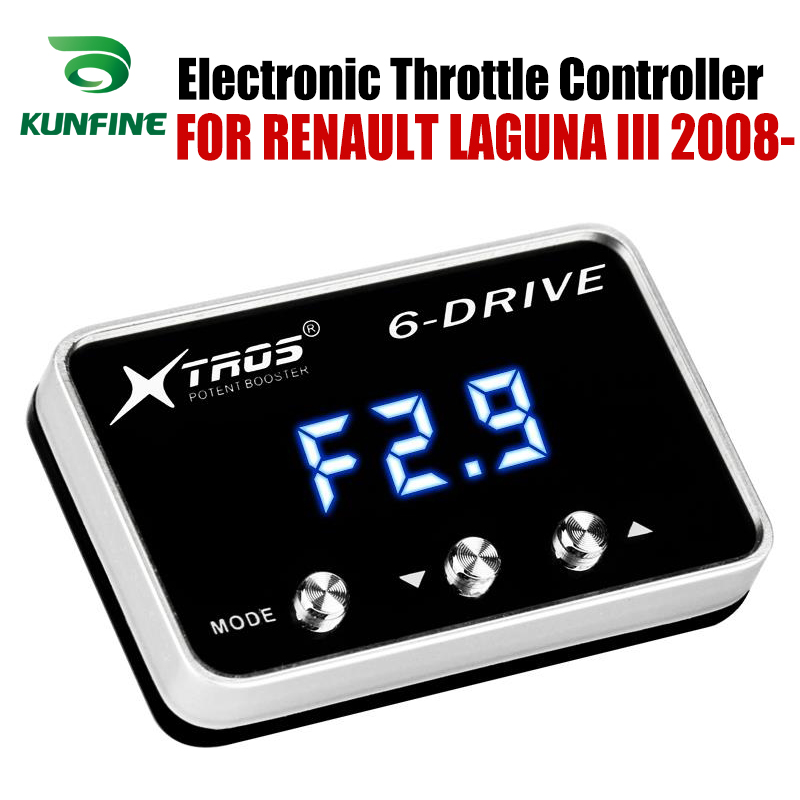 Car Electronic Throttle Controller Racing Accelerator Potent Booster For RENAULT LAGUNA III 2008-2019 Tuning Parts AccessoryCar Electronic Throttle Controller Racing Accelerator Potent Booster For RENAULT LAGUNA III 2008-2019 Tuning Parts Accessory