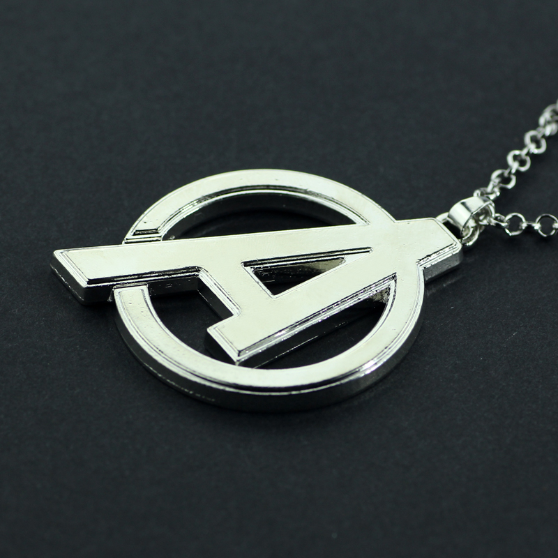 Feimeng Jewelry Marvel Comic The Avengers Necklace Superhero A Logo Pendant For Men Cool Accessories In Necklaces From
