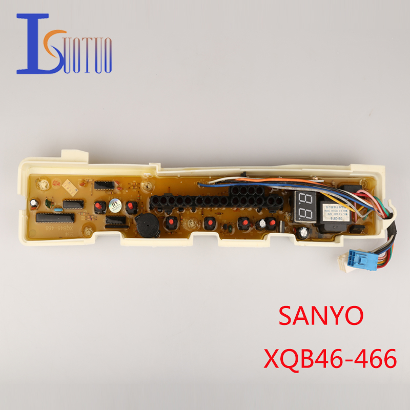 Original SANYO washing machine board XQB46-466  brand new computer board XQB46-476 XQB50-S805Z free shipping 100% tested for sanyo washing machine board xqb46 466 motherboard on sale