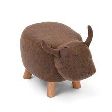 Бытовой прекрасный детский стул менять обувь Bench творчество моющийся табурет деревянный детская мебель стабильный стирать стул