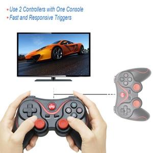 Image 4 - Terios T3 X3 gamepad sem fio, joystick Bluetooth BT3.0, controlador para celular e tablet, suporte de caixa de TV, no atacado