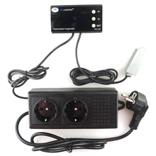 THC-220EU цифровой термостат hygromstat для домашних животных reotile Температура регулятор влажности для День и ночь