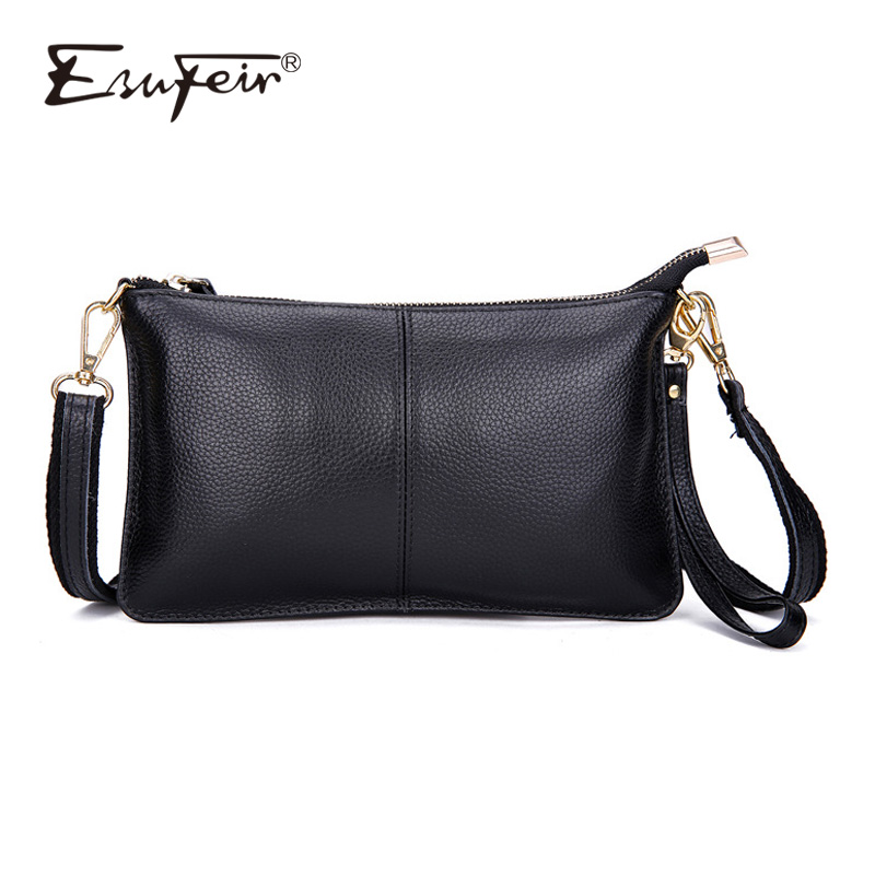 100% Genuine Leather Women Messenger Bag Famous Brand Female Shoulder Bag Envelope Clutch Bag Crossbody Bag Purse for Women 2018 sgarr new pu leather messenger bag famous brand women shoulder bag envelope women clutch bag small chain crossbody bags female