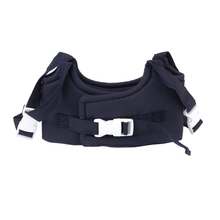 HOT SALE Baby Toddler Walking Assistant Vest Learning Walk Safety Harness Walker Wing Belt (Dark Blue)