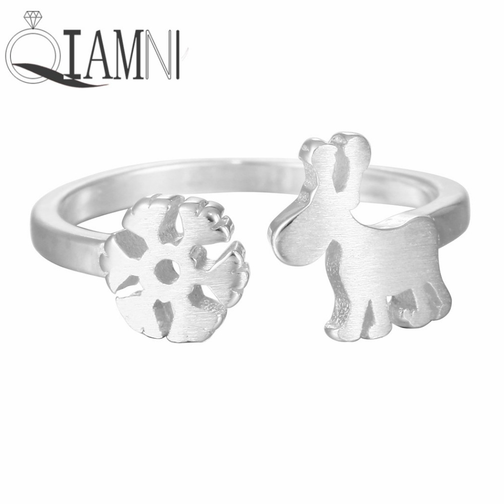 1f943fc3507e Qiamni plata esterlina 925 encantadora copo cervatillos dedo abierto  Navidad regalo para las mujeres chica Accesorios cumpleaños joyería