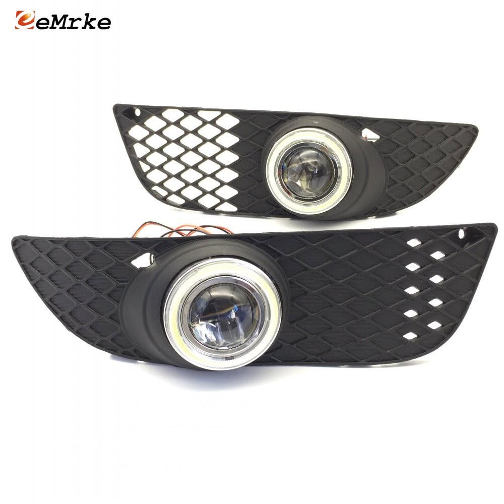 eeMrke For Mitsubishi Lancer EX LED Angel Eye DRL ցերեկային - Ավտոմեքենայի լույսեր - Լուսանկար 1