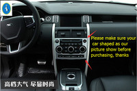 More Fashion ! Interior For Land Rover Discovery Sport 2015 2016 2017 ABS Central Console Air Conditioning Panel Cover Trim