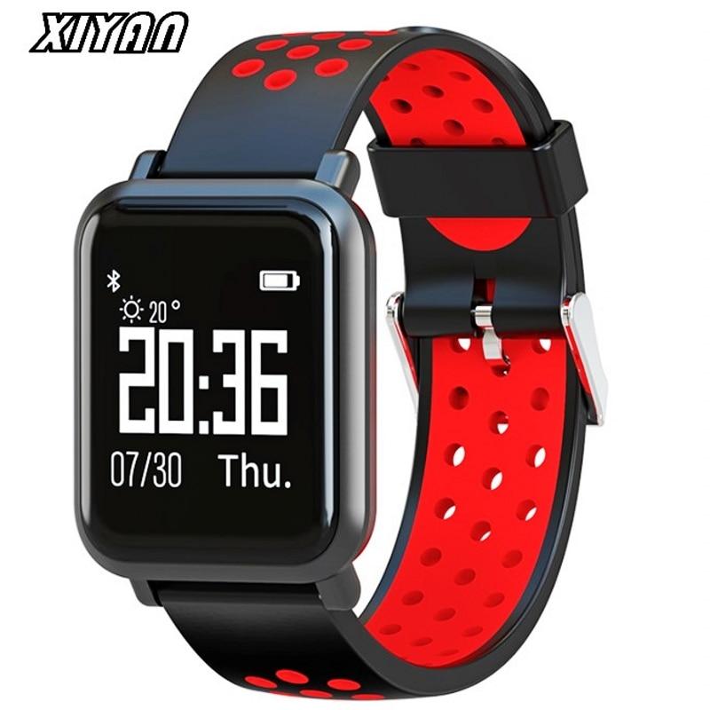 XIYAN SN60 Smart Watch Men IP68 Waterproof 60 Days Stand-by Blood Pressure Heart Rate Monitor Sport Bluetooth Smartwatch new garmin watch 2019