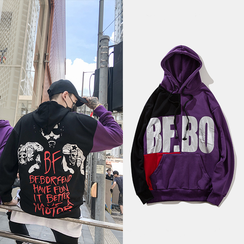 2018 Hot Sale Hip Hop Hoodies Sweatshirts Raper XXXTentacion Harajuku Men Cool Casual Print Autumn Plus Size L208