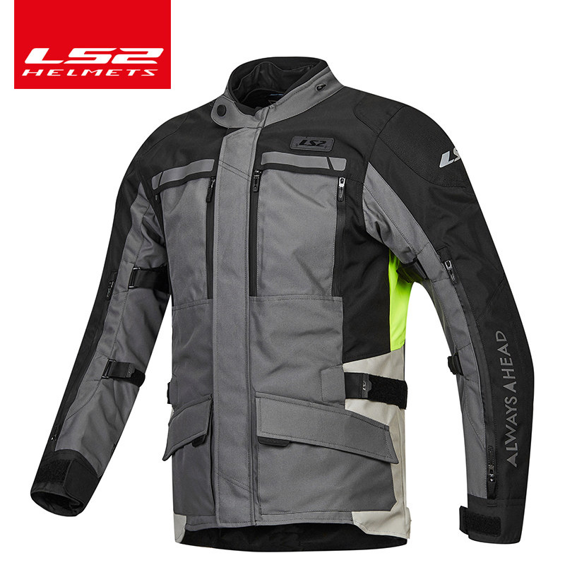 LS2 Jerseys Men's Motorcycle Racing Locomotive Rally Suits Four Seasons Waterproof Windproof Warm Winter Drops Winter