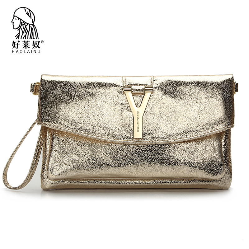 HAOLAINU Women Clutch Bags Crossbody And Purses Envelope Evening Day Clutches Bags 2017 Fashion Messenger Bags Party Hasp Lock 2016 women s handbags shoulder bag pistol bags 3d gun day clutches women envelope bags vintage messenger bags purses sg31