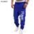 Mens Joggers 2017 Masculinos Hombres de la Marca Pantalones de Cordón Cartas Impreso pantalones de Chándal Basculador 2XL FGUYRNV