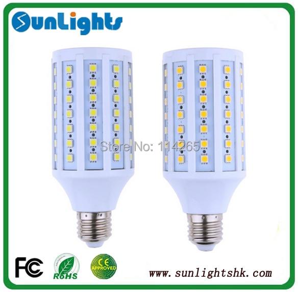 6w 9w 12w 15w 20W 30W LED 165/102/84/60/44/36pcs SMD 5050 LED corn lamp light 220V/110V E27 E14 B22 Cold/warm White bulb