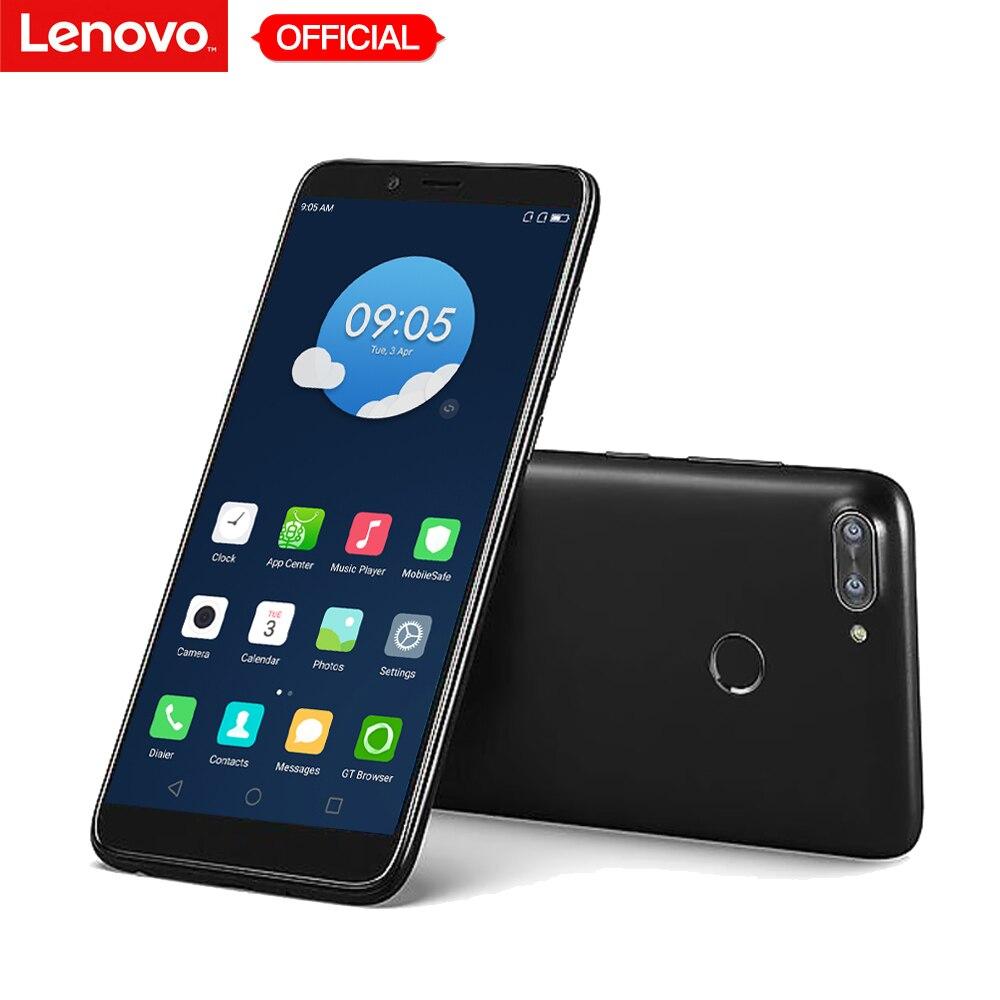 Original Lenovo K320t 5.7 polegada de Tela Cheia Do Telefone Móvel Android 7.0g LTE Smartphones 2 4 gb RAM 16 gb ROM 8MP Impressão Digital 3000 mah