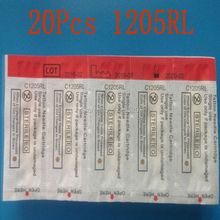 EST T-TECH Disposable Cartridges 20PCS/LOT 1205RL Round Liner TATTOO Hawk&T-TECH BRAND Tattoo Needles Cartridges