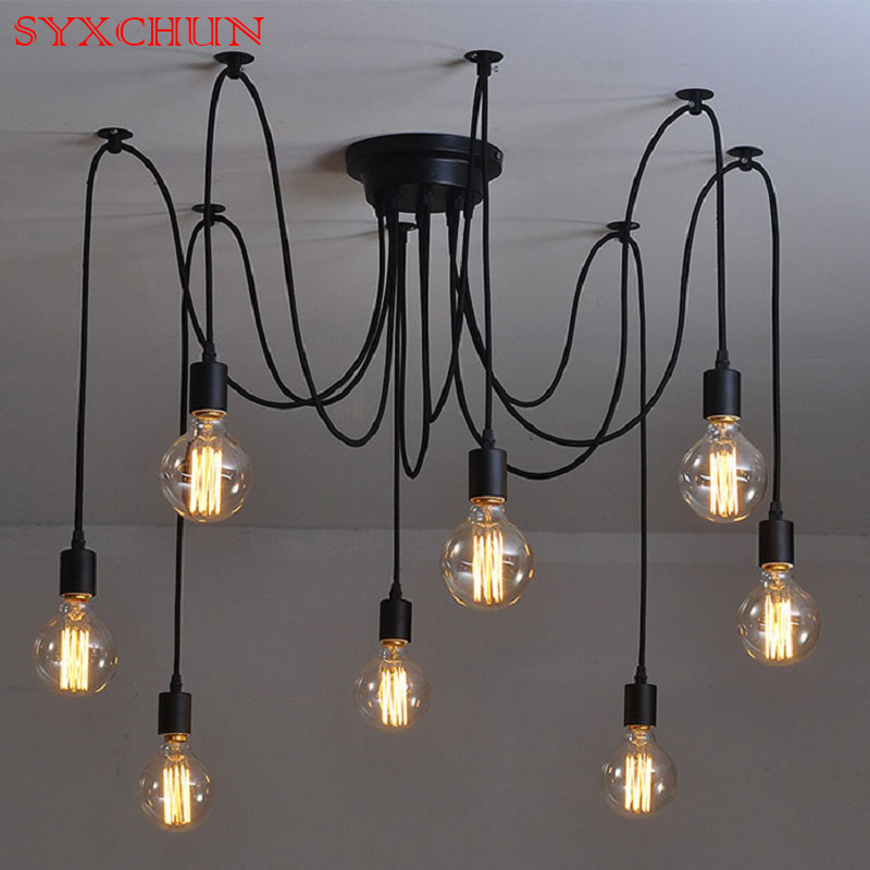 American country modern LED chandeliers living room dining room lights bedroom bar long days scattered flowers Chandeliers 6 lights modern metal chandeliers american country fabric lampshade suspension light fixture living room bedroom lighting pl662