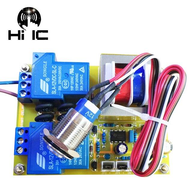 גבוהה כוח מגבר כוח לוח שנאי עיכוב כוח רך להתחיל הגנת לוח עבור מגבר AMP 30A 1000 w