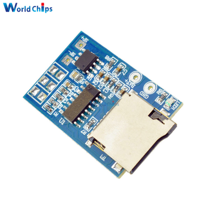 Active Components Devoted Tzt Gpd2846a Tf Card Mp3 Decoder Board 2w Amplifier Module For Arduino Gm Power Supply Module Integrated Circuits
