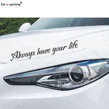 Car Stickers Always have your life for Acura ILX RDX MDX RL TL TSX ZDX MDX Car Styling(China)