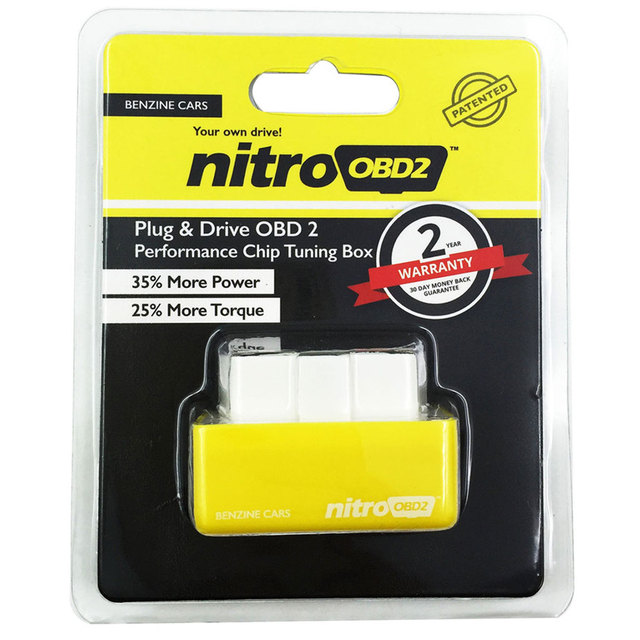 Benzine Cars OBD2 Performance Chip Tuning Box 35% More Power 25% More Torque