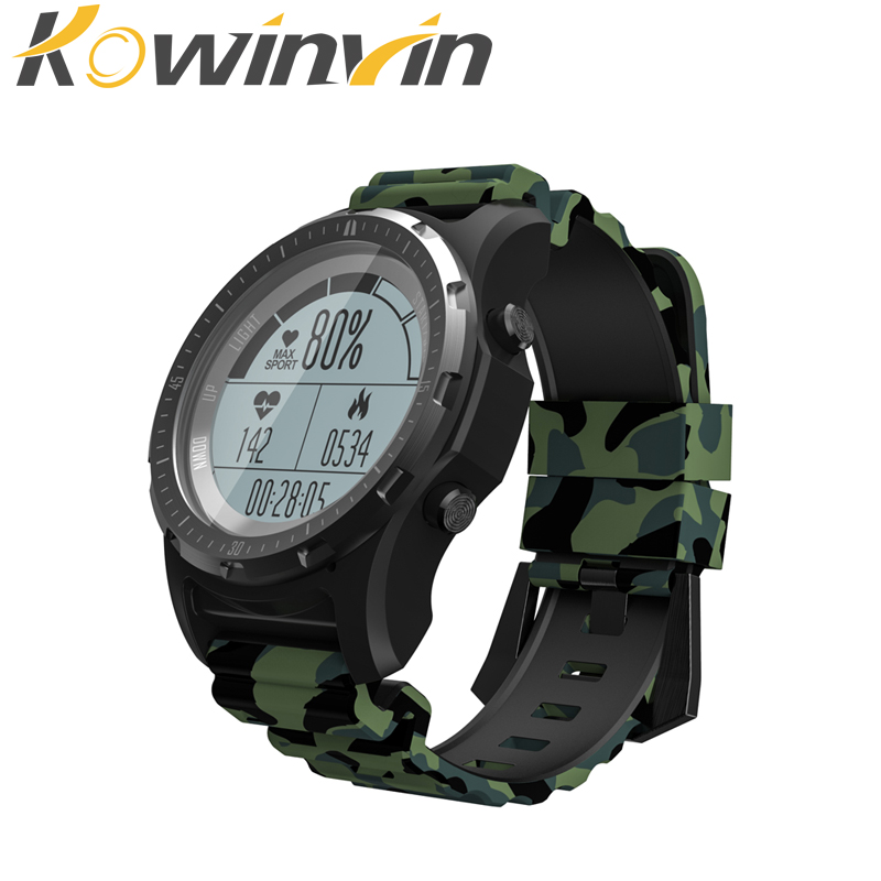 SN66 GPS Sports Watch 1.3'' Screen Smart Watch multi-sport Smartwatch Bluetooth 4.0 built-in GPS Chip Heart Rate Monitor