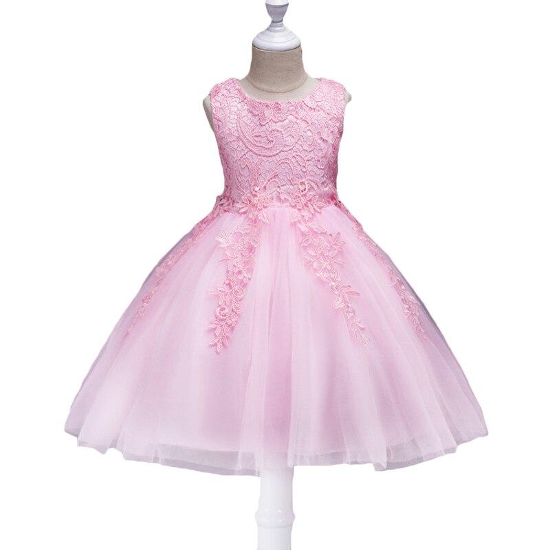 1c0f6bdb65 2019 kwiat dziewczyna sukienka na wesele dla dzieci 3 10years urodziny  stroje dla dzieci dziewczyny pierwsza komunia sukienki ubranie na przyjęcie  dla ...