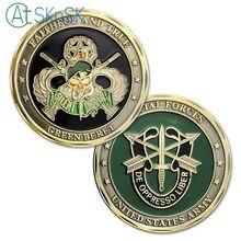 Commercio all ingrosso 50 100 pz lotto Monete Souvenir US Forze Speciali  Militari f70b1f8a1ee9