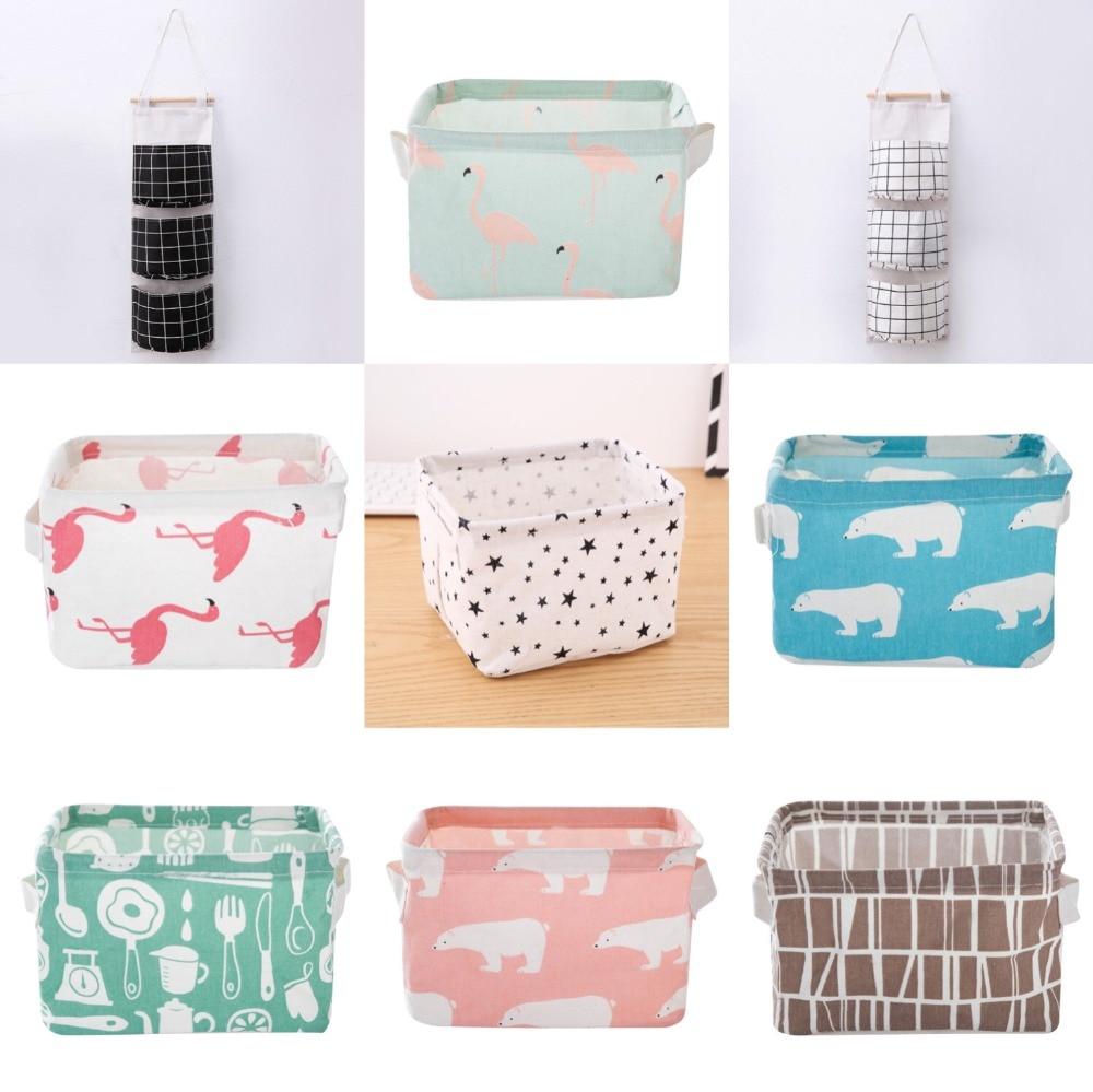 Storage Basket Sundries Underwear Toy Storage Box Cosmetic Book Organizer Stationery Container Laundry Basket in Storage Baskets from Home Garden