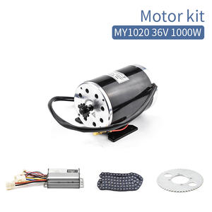 1000 W 36 V 48 V Brush For e Scooter DC Motor with Controller Chain