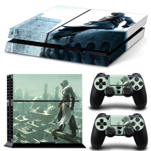 Free Drop Shipping Decal FOR Style Vinyl Cover Decal PS4 Skin Sticker for Sony PlayStation 4 Console & 2 Controllers Skins protective vinyl skin decal cover for ps vita psvita playstation vita portable sticker skins diamond plate