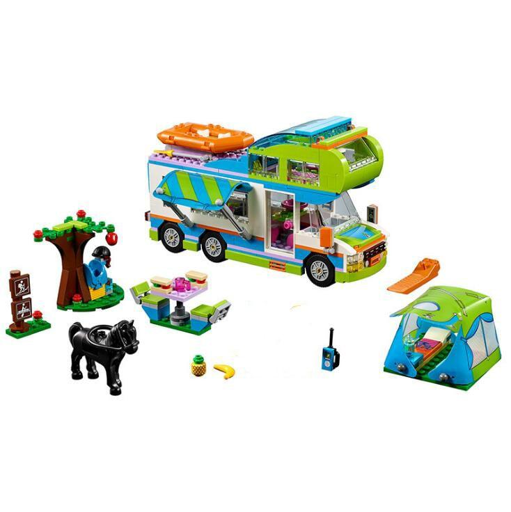 Lepin 01062 Girl Series The Motorhome Building Blocks Bricks Educational Toys As Children Gift LegoINGlys 41339
