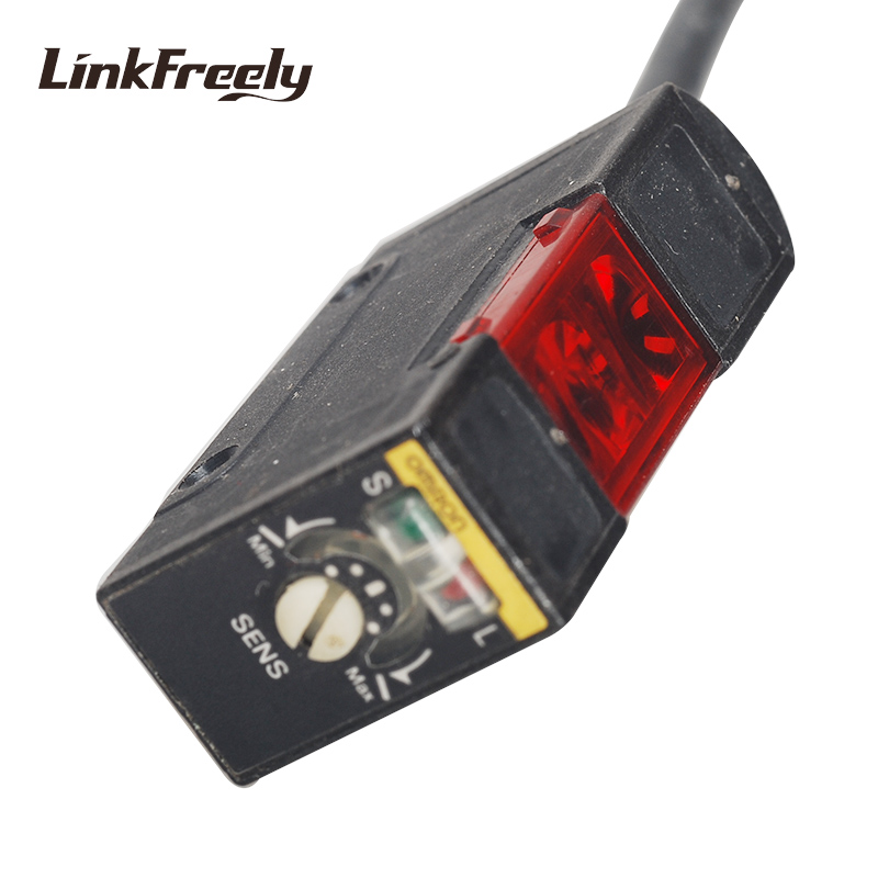 E3S AD61 OMRON General Purpose Interruttore del Sensore Fotoelettrico, NPN Diffusa di Tipo Riflettente, HA CONDOTTO LA Luce Intelligente Interruttori Elettrici Mini