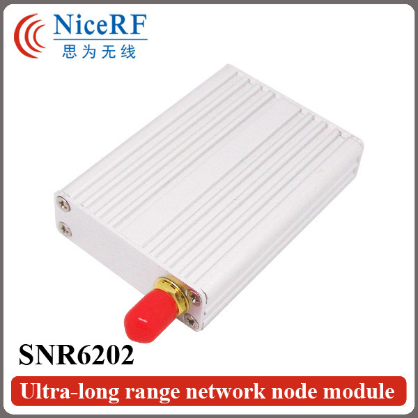 Multi-Channel 2W 433/470MHz  5km Ultra-long Rrange Wireless Transceiver Module SNR6202 with TTL/RS232/RS485 Interface