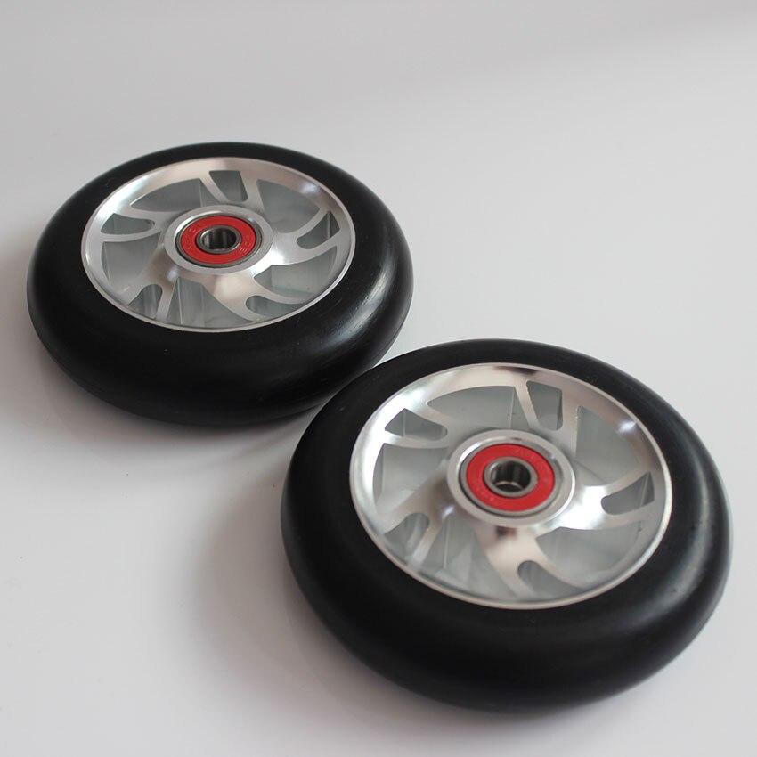 Kostenloser Versand! Stunt Roller Räder / Aluminiumlegierung Räder - Radfahren - Foto 3