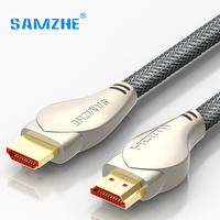 SAMZHE 4K 2K HDMI2 0 Cable Gold Plated 1080P HDMI2 0 Cable 3D HDMI2 0 Cable