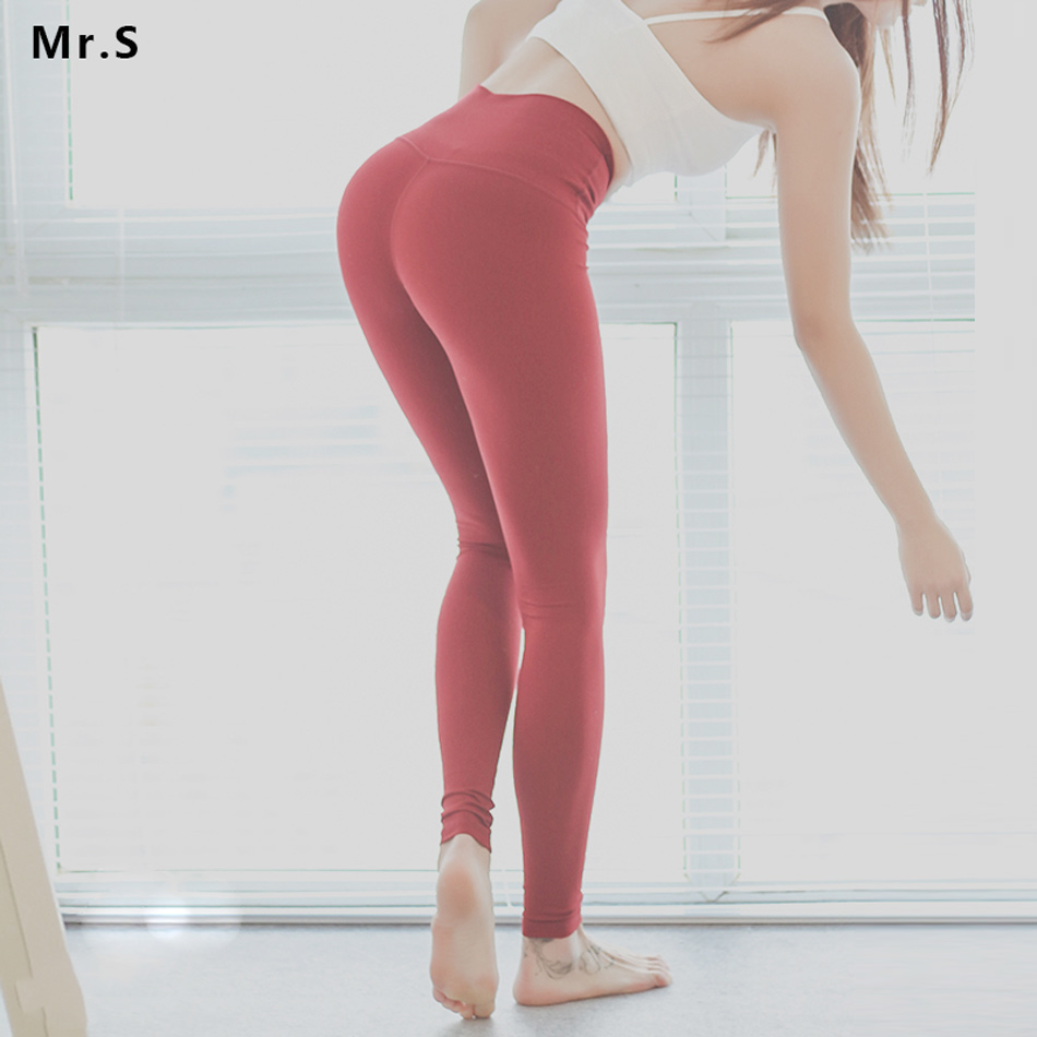 Women 4 Way Stretch Yoga Pants Tummy Control Workout Yoga Leggings High Waist Ultra Soft Lightweight Leggings Running Tights