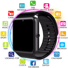 Smart Watch GT08 Bluetooth Men With Touch Screen Smartwatch Big Battery Support TF Sim Card Camera For IOS iPhone Android Phone dhl free shipping kw18 smart watch phone with sim tf card mp3 smartwatch for android ios smartphone 340mah battery 1 3 ips