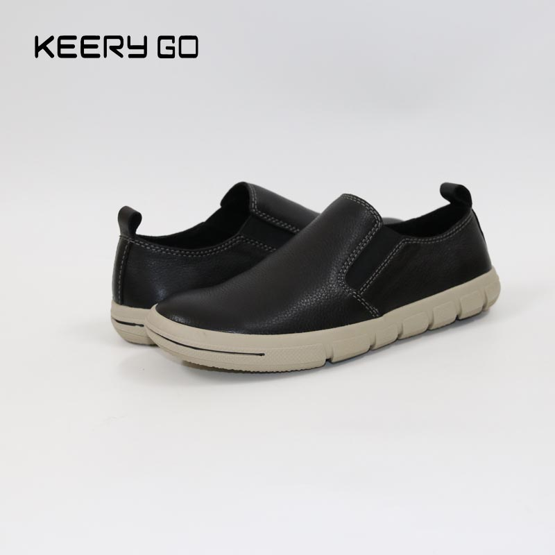 new high-end cowhide leather loafers shoes flat men inside and outside dichotomanthes end wushu shoes for men and women section is better than soft cowhide leather shoes practicing taijiquan